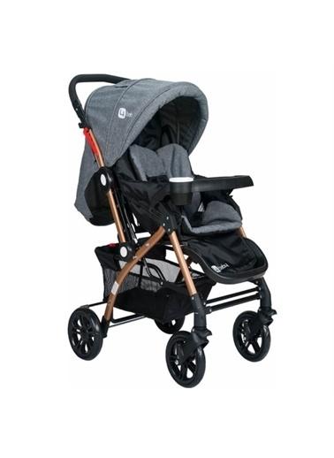 4 Baby 4 Baby Active Lüx Çift Yönlü Bebek Arabası Gri